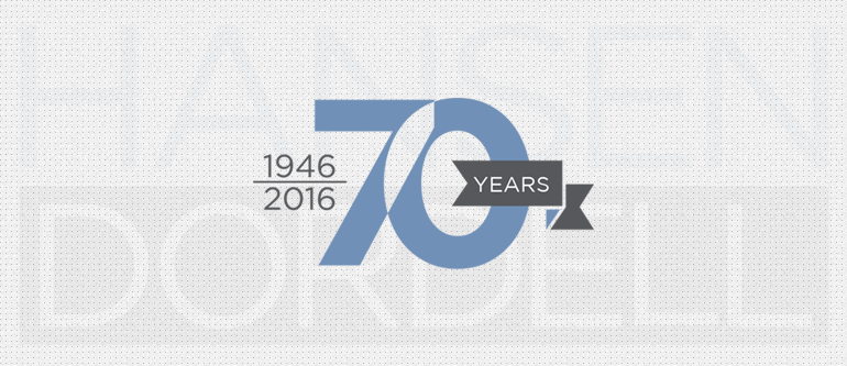Hansen Dordell Celebrates Its 70th Anniversary